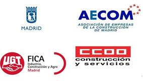 FIRMADO EL CONVENIO DE COLABORACION ENTRE EL AYUNTAMINEO DE MADRID Y LOS AGENTES SOCIALES