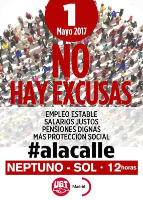 1º DE MAYO NO HAY EXCUSAS