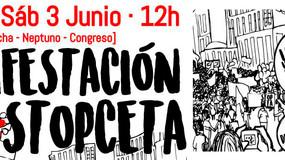 UGT llama a participar en las movilizaciones del 2 y 3 de junio contra el CETA