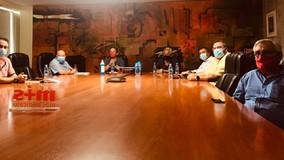 Reunión de UGT FICA para analizar la situación del sector aeroespacial