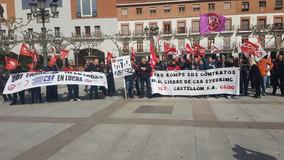 UGT FICA convoca una concentración en el Ayuntamiento de Torrejón por el cierre CSA CASTELLON
