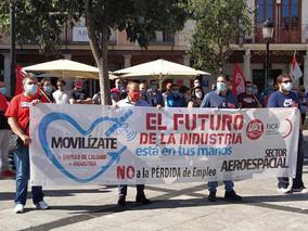 UGT FICA rechaza con firmeza la salida de cualquier planta española de Airbus