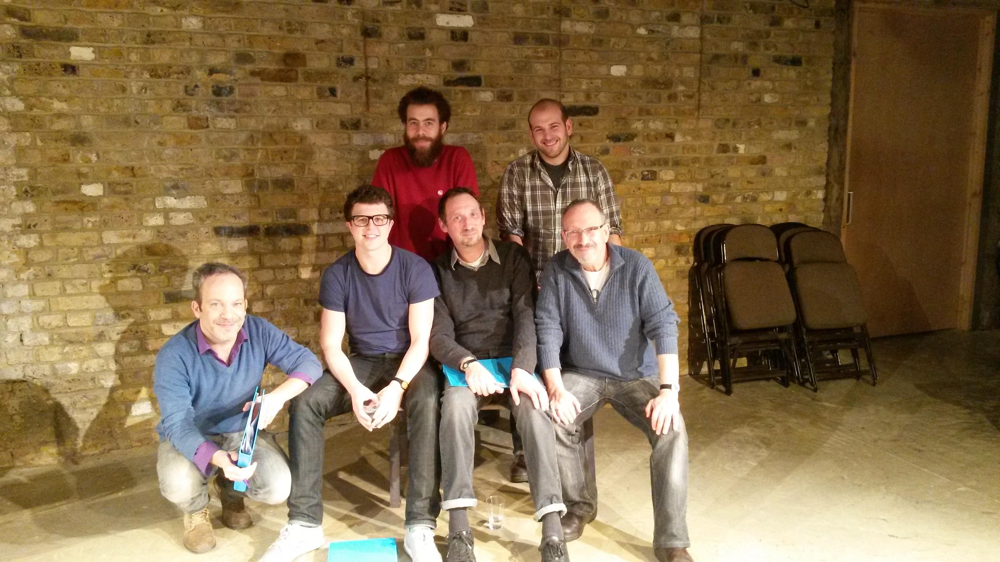 The Schvitz reading team