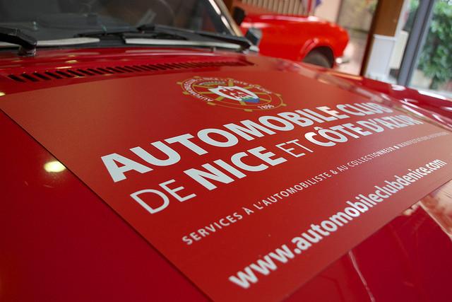 Démonstration Automobile Club de Nice - Trimph Spitfire