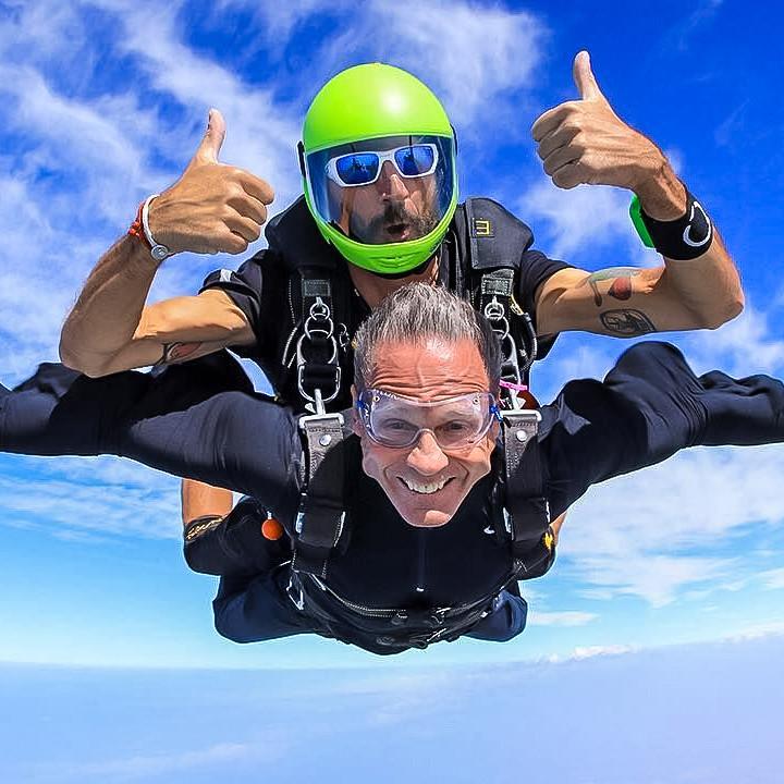 lancio col paracadute