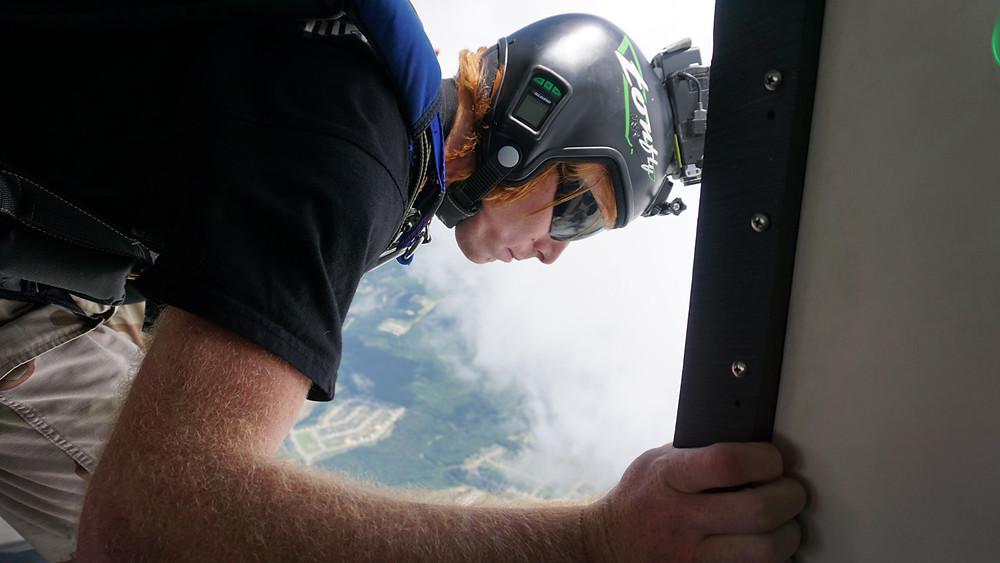 Paracadutista controllo
