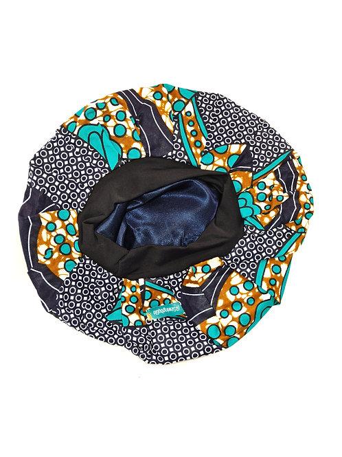 Bonnet de nuit ENFANT | 2 à 6 ans | Doublure Satin | SewingByGlo