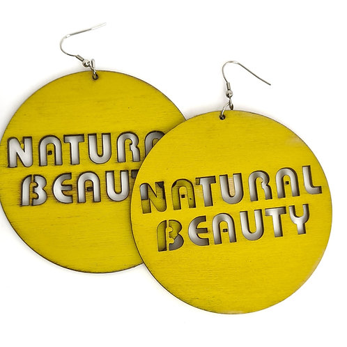 Boucles d'oreilles NATURAL BEAUTY