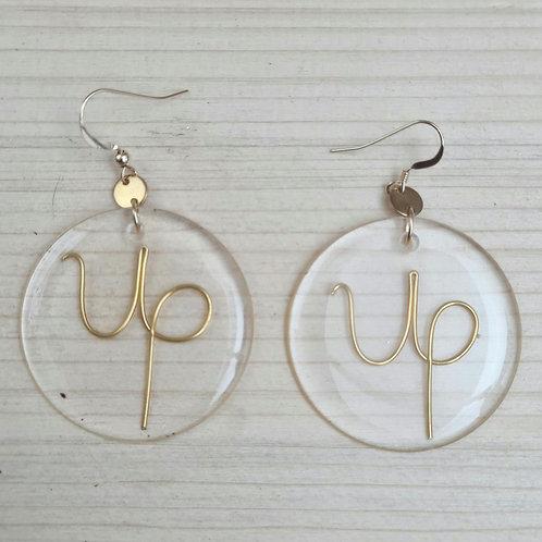 Boucles d'oreilles GLASS'  | Up