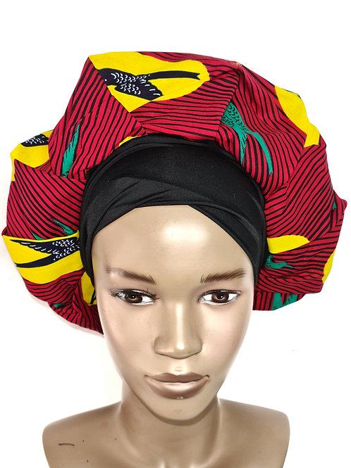 Bonnet de nuit | Modèle standard | Doublure Satin | SewingByGlo