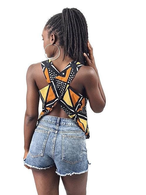 TOP Papillon    Wakanda (Taille M)