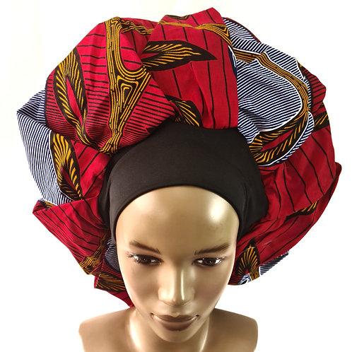 Bonnet de nuit | Grand Modèle | Doublure Satin | SewingByGlo