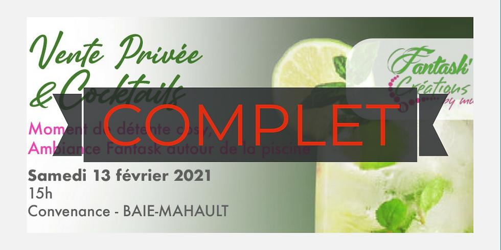 Vente privée & Cocktails 🍸 By Fantask