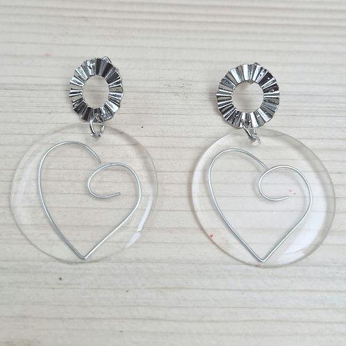 Boucles d'oreilles GLASS'