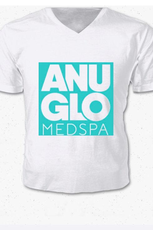 Men's Anu Glo White V-Neck