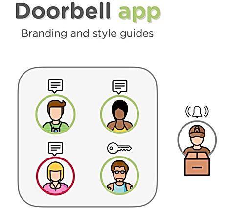 Doorbell app style