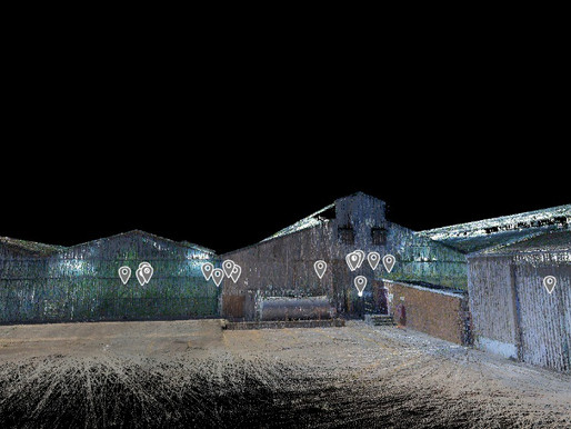 Agricultural Factory | 3D Scan to BIM