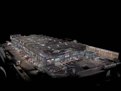 Scan to BIM | Paarden Eiland Warehouse