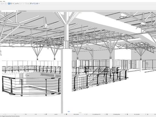 Scan to BIM Project | As-built Gymnasium