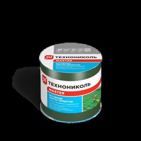 Самоклеящаяся битумная лента-герметик NICOBAND 10м х 10см