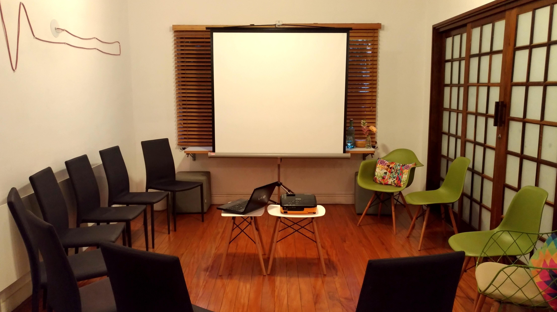 Sala Citrino projetor
