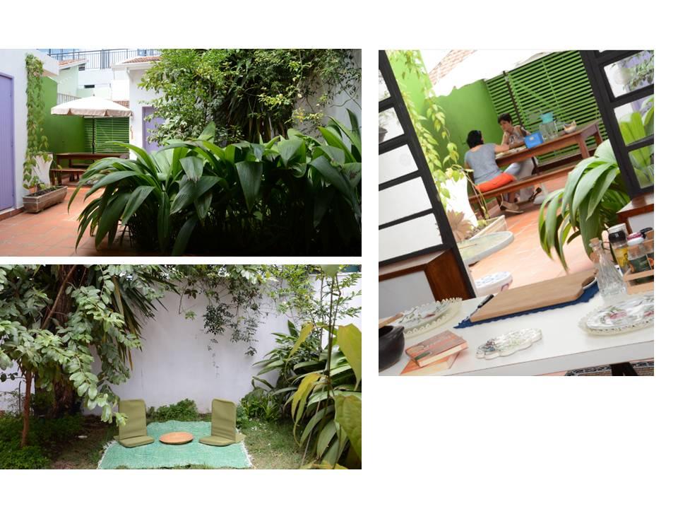 quintal de encontros, evento e relax