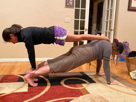 Fun Plank Pose