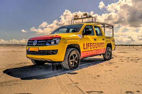 Canva - Yellow and Red Pickup Truck on S