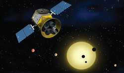 TESS observing transiting exoplanets