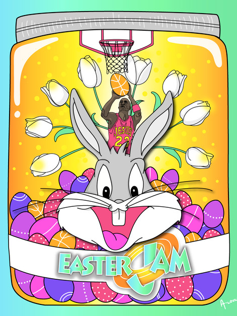 """A JAR OF EASTER JAM"""