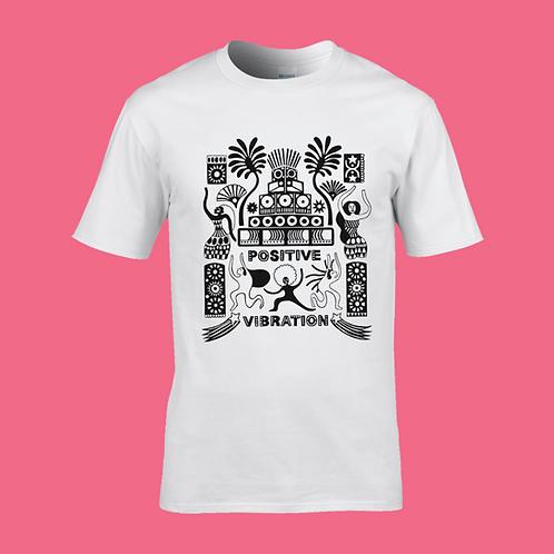 PV Sound System T-Shirt #1 | White