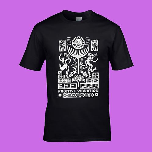 PV Sound System T-Shirt #2   Black