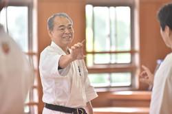 Sensei Kuba, Seminar, Okinawa 2015