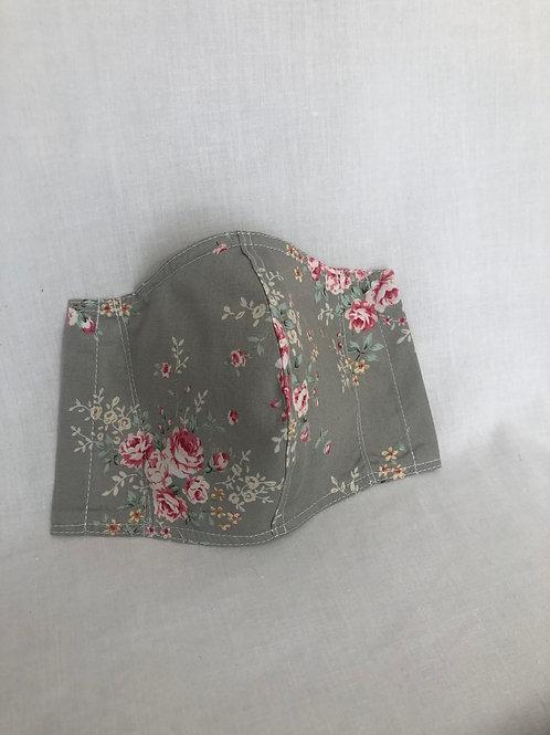 Delicate Petals Cotton Mask