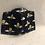 Thumbnail: Yellow Bee Navy Cotton Mask