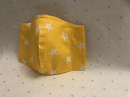 Star Bright Cotton Mask