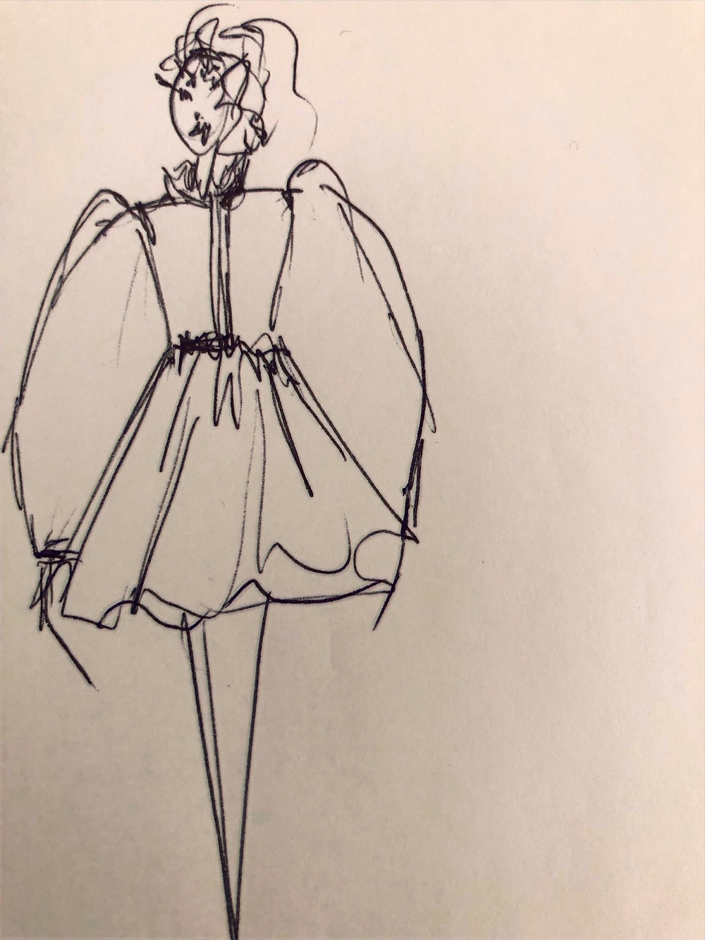 Sketch by Creative Fashion Services
