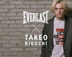 EVERLAST × TAKEO KIKUCHI イメージCM