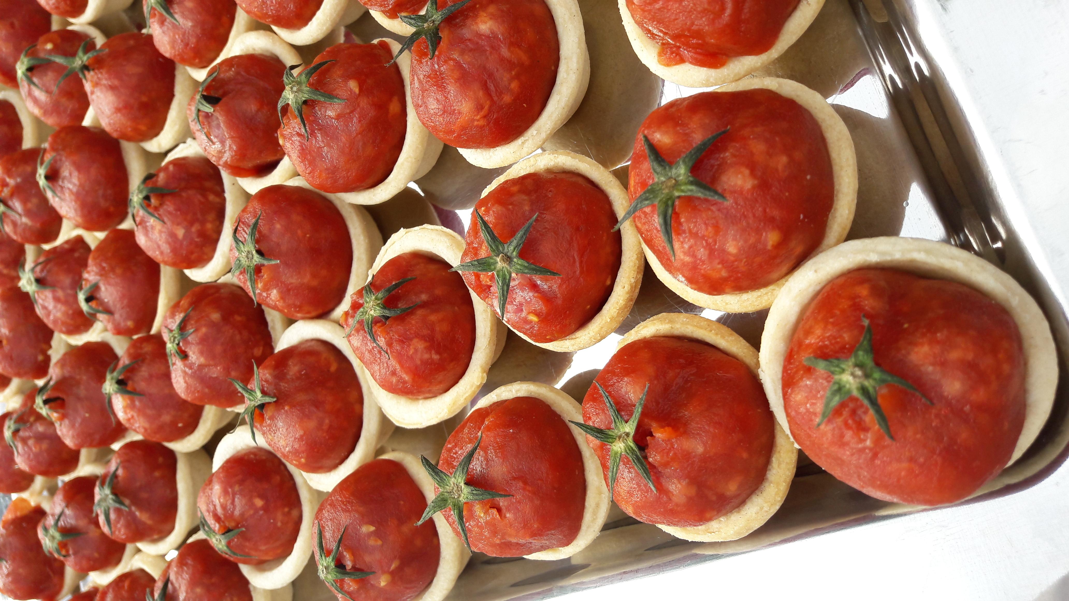 catering - tomaatje van ossenworst