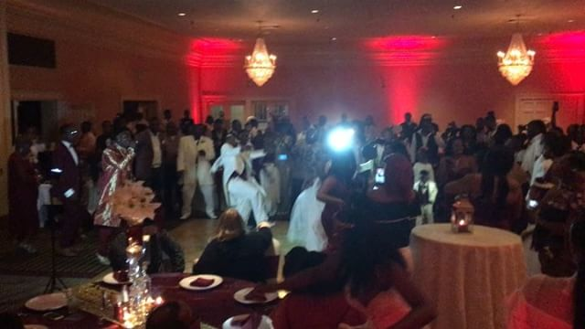 The reception was lit! #CobbWedding