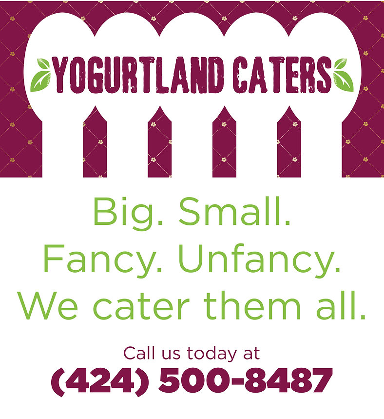 Yogurtland Catering