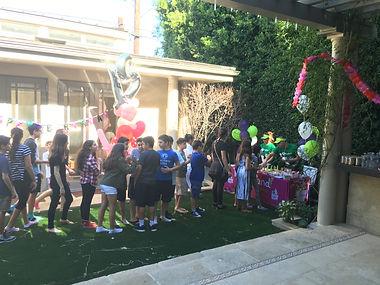 Yogurtland Santa Monica Promenade Catering Birthday Party