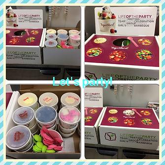 Yogurtland Santa Monica Promenade Catering Box