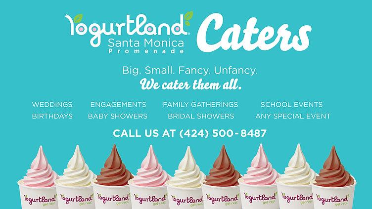 Yogurtland Santa Monica Promenade | Catering