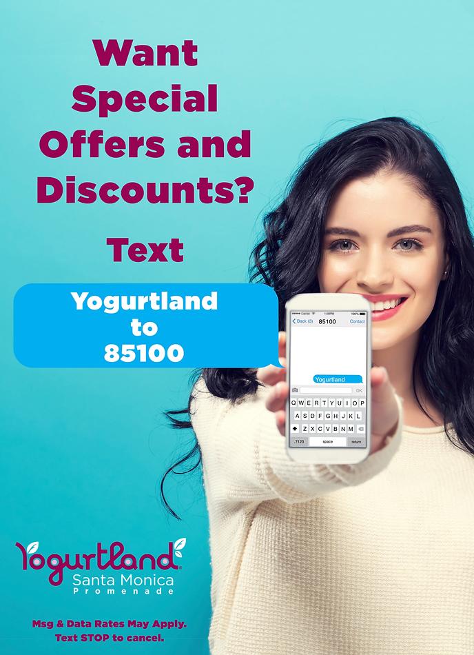 Yogurtland Santa Monica Promenade Fundraising fundraise fundraiser