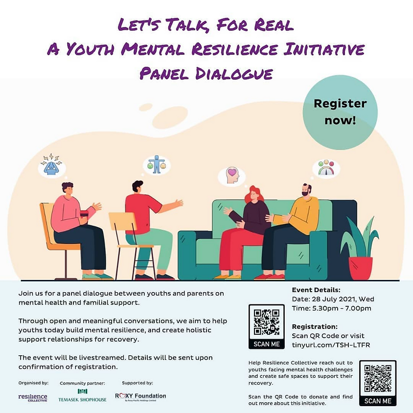 Let's Talk, for Real: A Youth Mental Resilience Initiative
