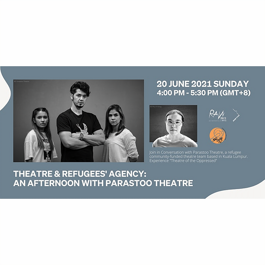 Theatre & Refugees' Agency : An Afternoon With Parastoo Theatre
