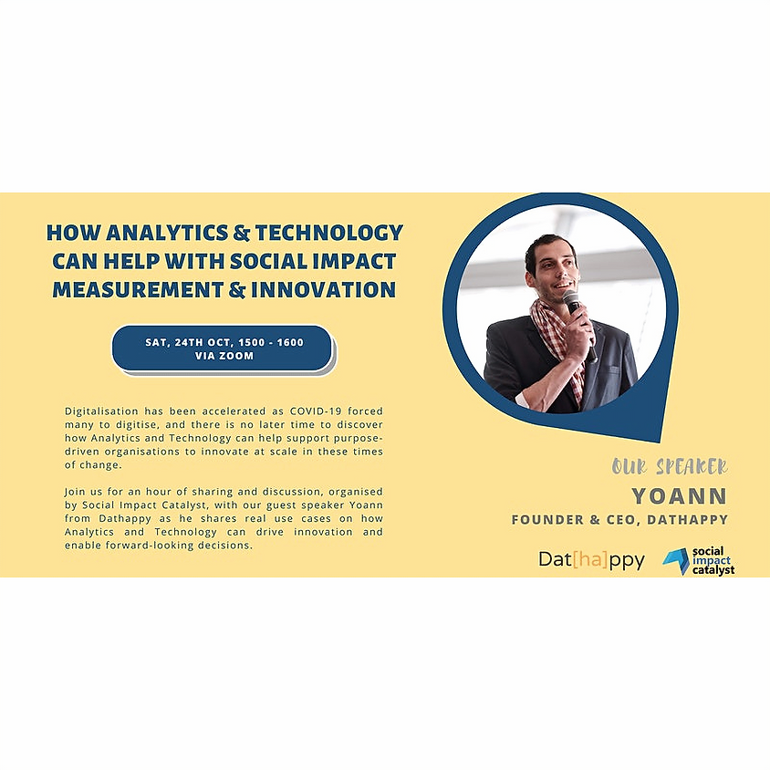 How Analytics & Technology can help Social Impact Measurement & Innovation