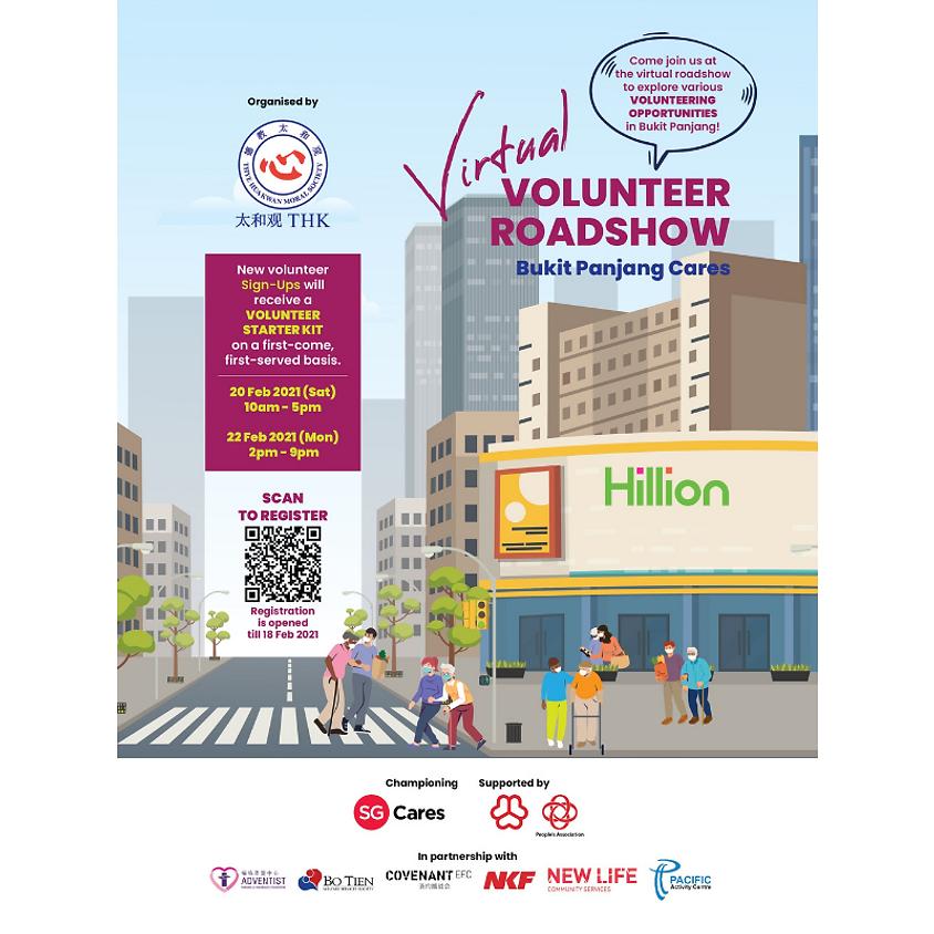 Bukit Panjang Cares - Virtual Volunteer Roadshow (Monday)