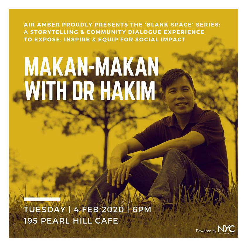 Blank Space: Makan-Makan with Dr. Hakim
